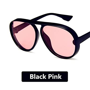 SUGLAUSES Gafas de sol Moda Vintage Redondo Elegante Lente ...