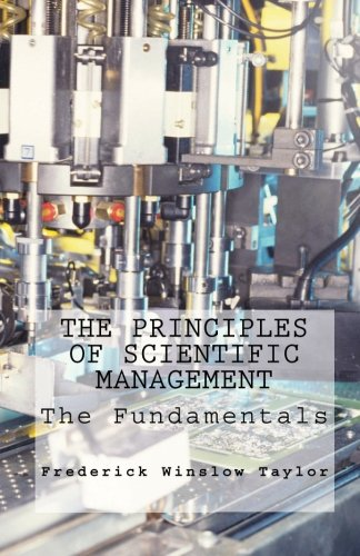 Read Online The Principles of Scientific Management pdf