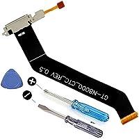 MMOBIEL Dock Connector Ladebuchse Lade Port Mikro USB für Samsung Galaxy Tab 2 10.1 inch mit Flexkabel Mikrofon und Home Button Anschluss vorinstallliert inkl. 2 x Schraubenzieher und Plectrum