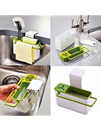 Acquisition 1 Piece Suction Cup Base Kitchen Brush Sponge Sink Draining Towel Rack Washing Holder online