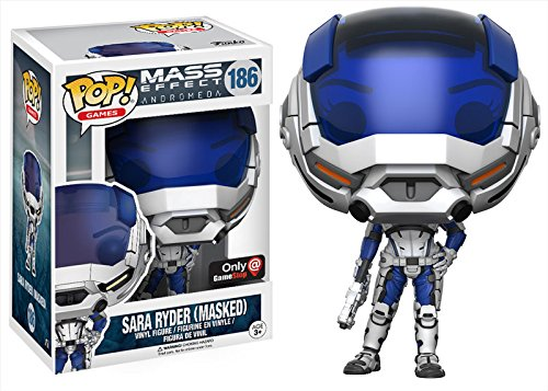 Funko! PoP Games Mass Effect Andromeda GameStop Exclusive Sara Ryder Masked 186