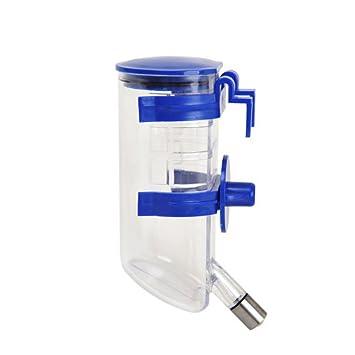 PanDaDa 350 ml dispensador automático, bebedero para agua, alimentador para mascota para perro, gato, pájaro, conejo. Botella colgante: Amazon.es: Productos ...