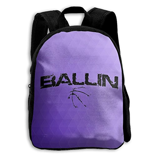 Kids School Bag Double Shoulder Print Backpacks BAALLIN Travel Gear Daypack Gift (Tart Satchel)