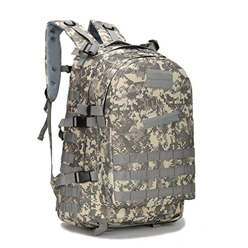 Camouflage Khaki Backpack Waterproof 3P Men's School Bag 40L w8ZYTPpn