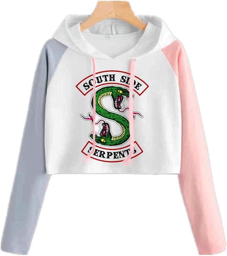 Riverdale imprimé Serpent Motif de South Side Pull à Capuche