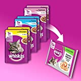 Whiskas Wet Cat Food 84 x 100 g Pouch for 1+ Adult, Mixed Selection in Jelly + Free 10g Whiskas Dentabites Sample Bild 5