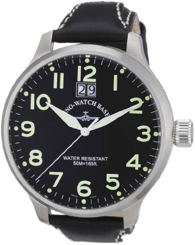 Zeno Watch Basel Men's Quartz Watch Quarz 6221Q-a1 with Leather Strap