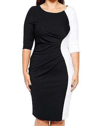 Kleid mit armeln und knielang