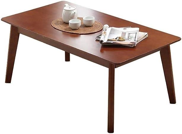 Xu-table Sofá TV Mesa Baja, Sala de Estar Cocina Adulto Mesa Cuadrada, Mesas de jardín Recuperate Madera de Tea, Año Brown: Amazon.es: Hogar