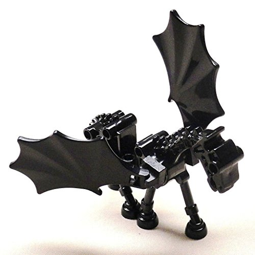 LEGO Black Thestral Skeletal Horse with Wings