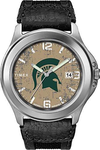 Timex Men's Michigan State University Watch Old School Vintage Watch