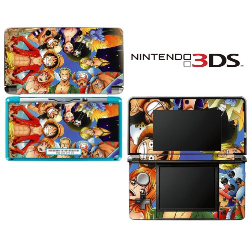 One Piece New World Decorative Video Game Decal Cover Skin Protector for Nintendo 3Ds