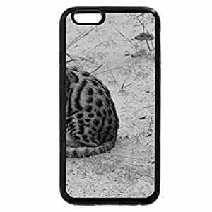 iPhone 6S Plus Case, iPhone 6 Plus Case (Black & White) - BLACK FOOTED SPITFIRE