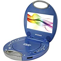 Sylvania SDVD7046-BLUE 7-Inch Portable DVD Player (Certified Refurbished)