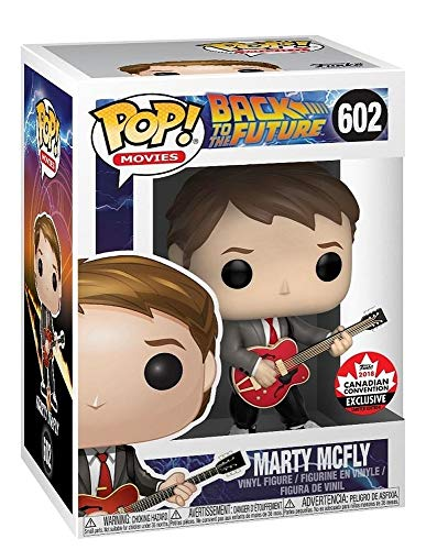 Funko Pop! Movies Back to The Future - Marty Mcfly (with Guitar) Canadian Convention Exclusive #602