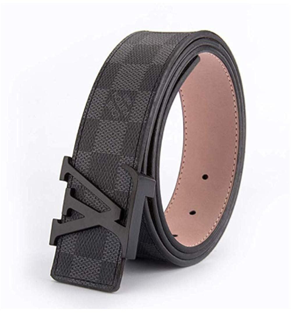 Classic black belt belt belt black buckle