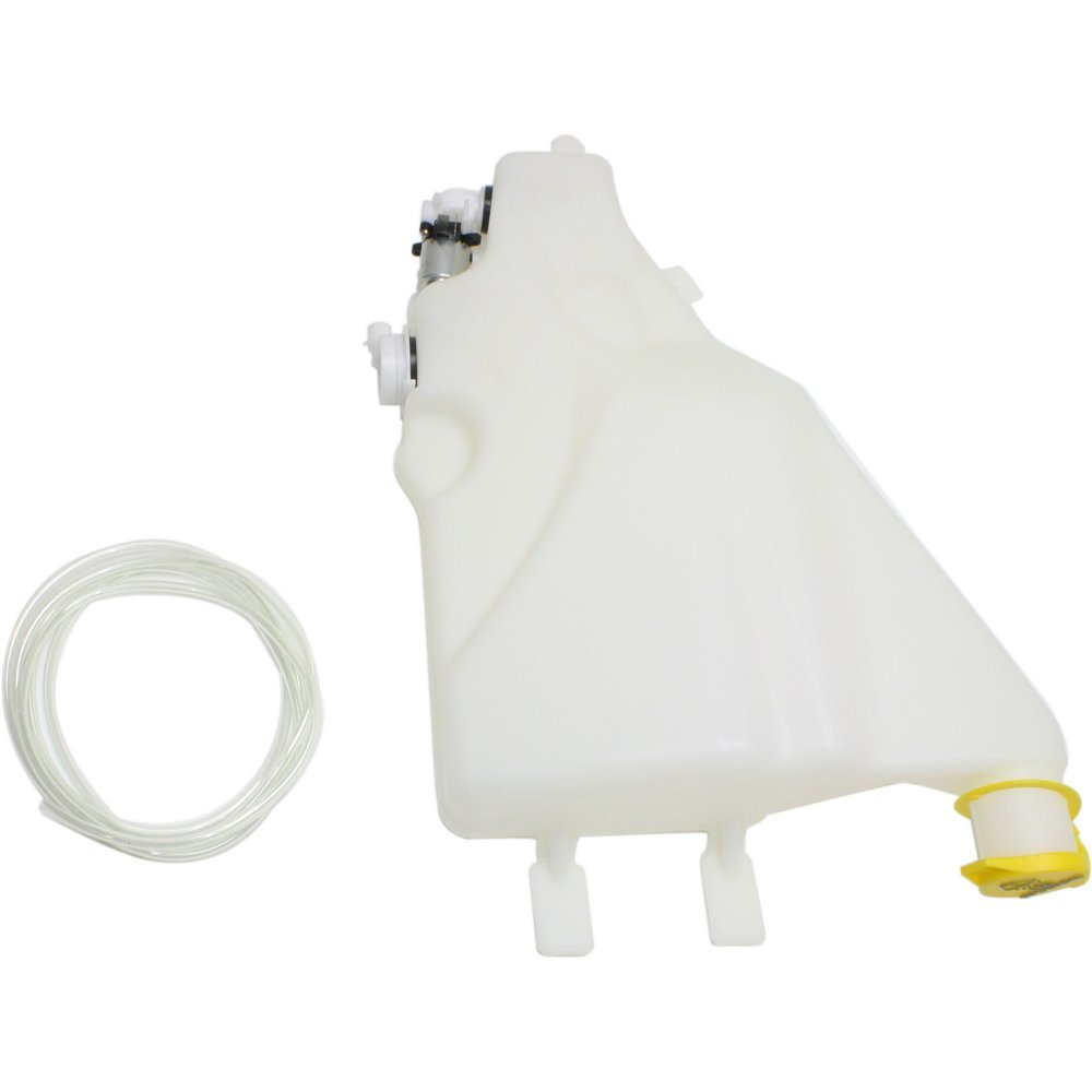 Evan-Fischer EVA162112014312 New Direct Fit Windshield Washer Tank for Dodge Full Size P/U 94-02 Assy W/Pump Cap And Sensor Hole