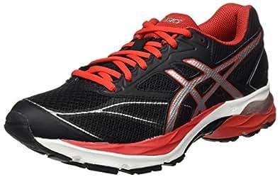 Asics Gel-Pulse 8, Zapatillas de Running Hombre, Negro (Black/Vermilion/Silver), 39