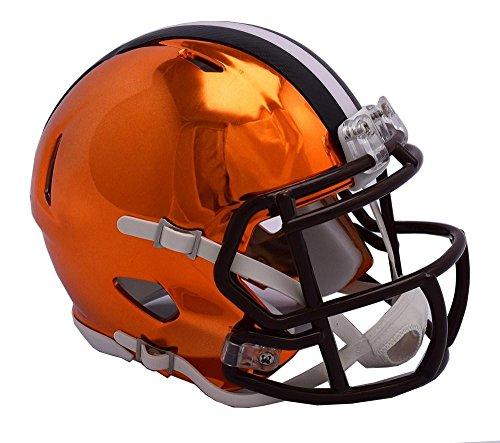 Riddell CLEVELAND BROWNS NFL Revolution SPEED Mini Football Helmet by Riddell