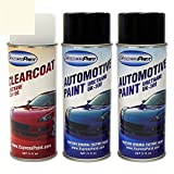 ExpressPaint Aerosol - Automotive Touch-up Paint for Acura TL - White Diamond Pearl Tri-Coat NH-603P - All Inclusive Package