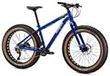Mongoose Argus Comp Fat Tire Bicycle 26″ Wheel, Blue, 15 inch / Small
