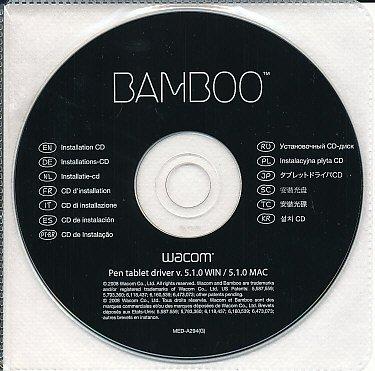 Wacom Bamboo Tablet Driver