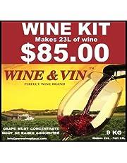 WINE&VIN Zinfandel RED Wine KIT Makes 23L