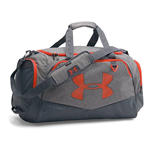 73683a8c689 Under Armour Storm Undeniable II Duffle, Graphite /Dark Orange, One Size