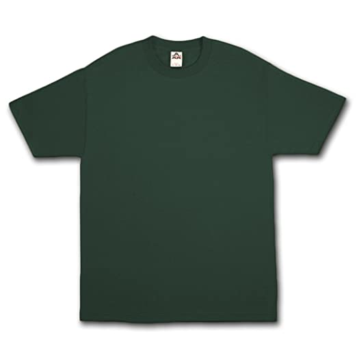 8d539f49f4e50 AlStyle Apparel AAA Plain Blank Men's Short Sleeve T-Shirt Style 1301 Crew  Tee