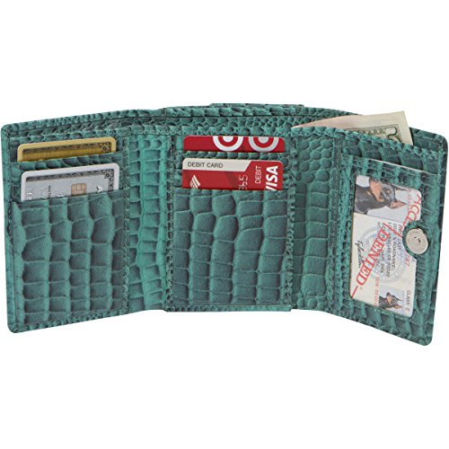 Access Denied Blocking Leather Trifold