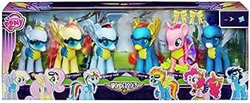 My Little Pony Wonderbolts 6 inch Ponies 6 figure pack / Mi Pequeño Pony: Amazon.es: Juguetes y juegos