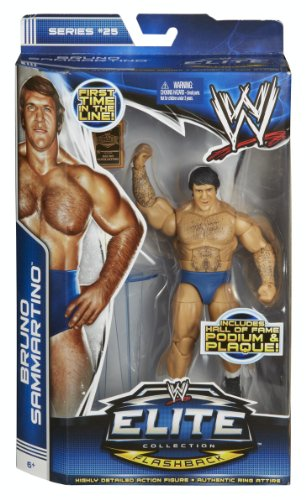 WWE Elite Collection Bruno Sammartino Action Figure