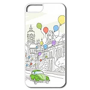 IPhone 5/5s Cases Balloon Design Hard Back Cover Shell Desgined By RRG2G