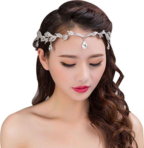 Bellady Bridesmaid Headpiece Forehead Rhinestone product image