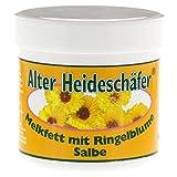 Calendula + Melkfett Soothing Salve - Sore, Irritated Skin, Stings, Insect Bites, Minor Burns- Large 250ml by Alter Heideschafer