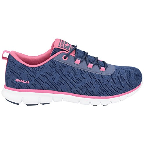 Bela Size Fitness Blue Womens Active 6 Sneakers Gola 8f5Tqwn