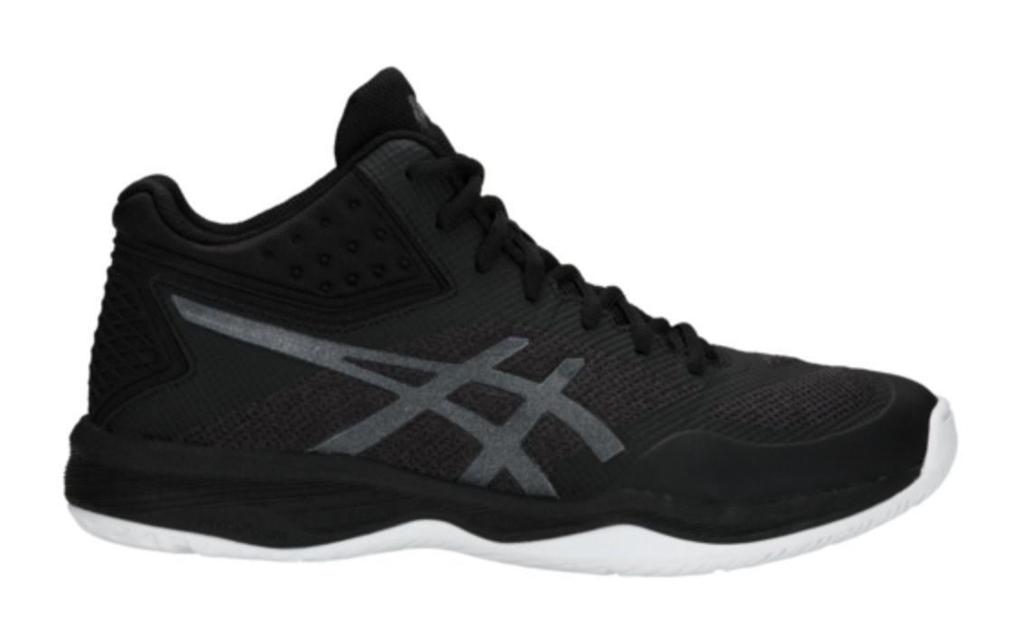 ASICS Men's Netburner Ballistic FF MT Volleyball Shoes, Black/Black, Size 12 by ASICS