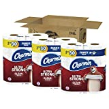 Charmin Ultra Strong Clean Touch Toilet Paper, Family Mega Roll, 18 Count