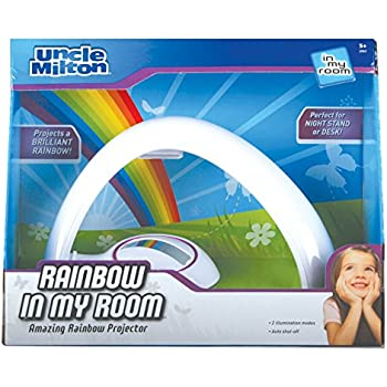 Uncle Milton Rainbow In My Room Tabletop Décor Night Light Projector