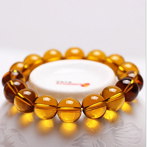 Xin Bai Xaing Women's Citrine Stretch Bracelet