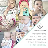 Goobie Baby Audrey Silicone Teething Necklace for