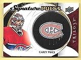 15/16 Upper Deck Trilogy Signature Pucks #CP Carey Price Autograph Insert Card