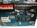 Makita XPH07Z LXT Lithium Ion Brushless Cordless Hammer Driver Drill with Tool , 1/2-Inch