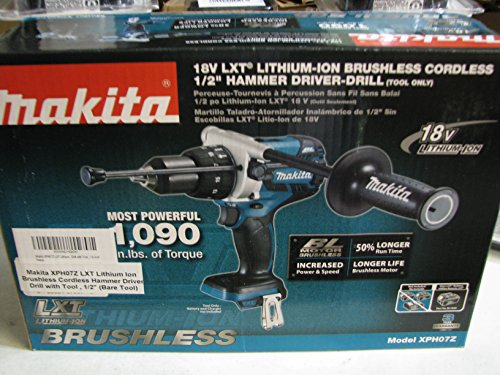 Makita XPH07Z LXT Lithium Ion Brushless Cordless Hammer Driv