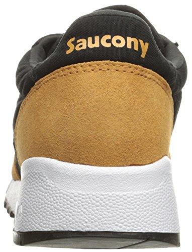 Saucony Unisex-adult Jazz 91 Sneaker Wit Zwart / Geel