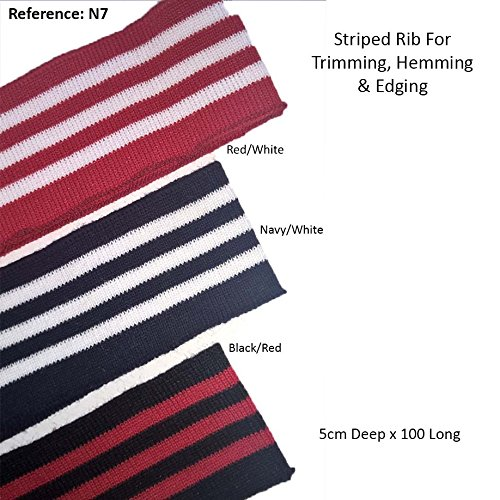 Stripes Pattern Knitted Waistband Knit Ribs Welts, Cuffs, Neck Bands ,For T Shirts, Jackets, Dresses & Crafts. Ribs for any Apparel Garments for Trimming. Stretch and Resilient Knit Rib.