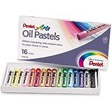 Pentel Arts Oil Pastels, 16 Color Set (PHN-16)