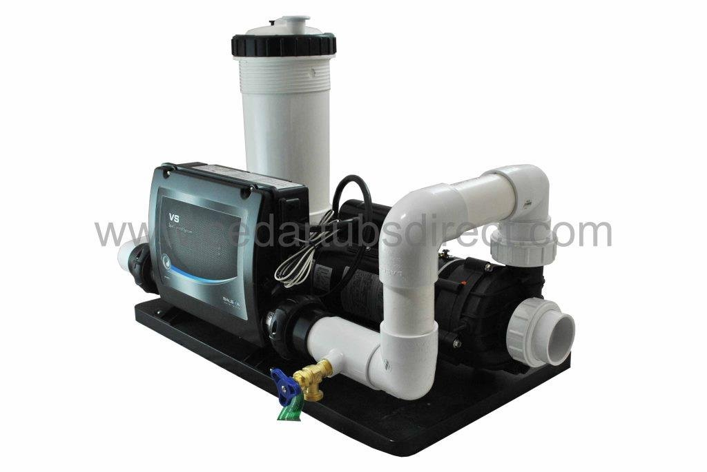 Balboa Spa System - 2 HP Pump, 5.5 Kw Heater, 50 ft by Northern Lights Group