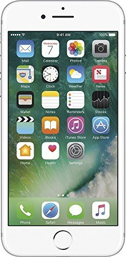 Apple iPhone 7, GSM Unlocked, 32GB - Silver (Renewed) by Apple