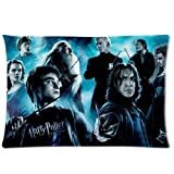Movie Harry Potter Pillowcase 20x30 two sides Zippered Rectangle PillowCases Throw Pillow Covers